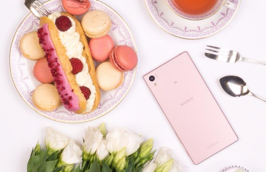 Sony kondigt roze versie van Xperia Z5 aan