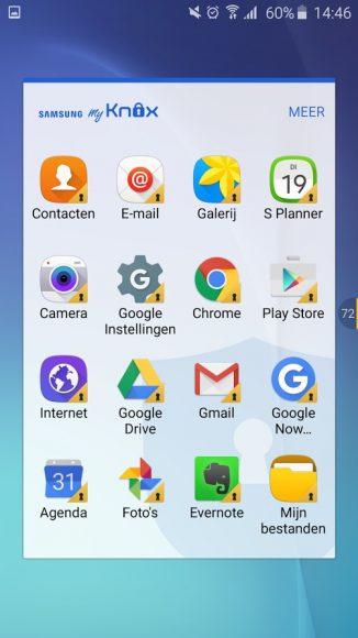 Samsung KNOX zakelijk