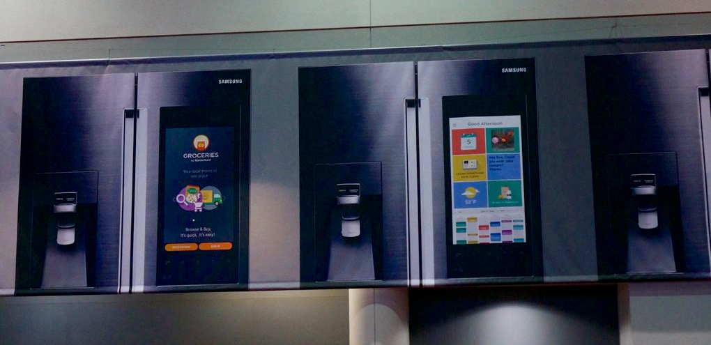Samsung koelkast met Android