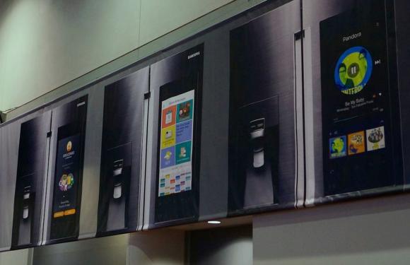Samsung maakt koelkast met enorm Android-scherm