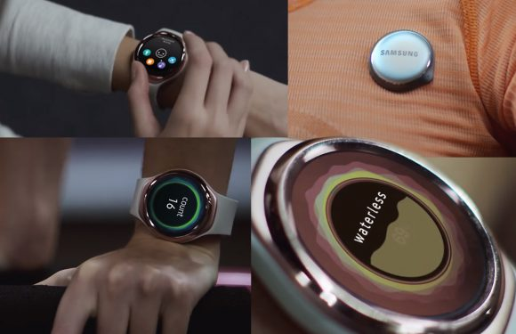 'Eerste foto's Samsung fitnesstracker SM-R150 duiken op'
