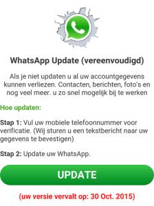 whatsapp verlopen