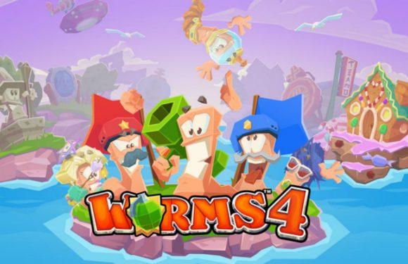 3 redenen om het nieuwe Worms 4 op je Android te spelen