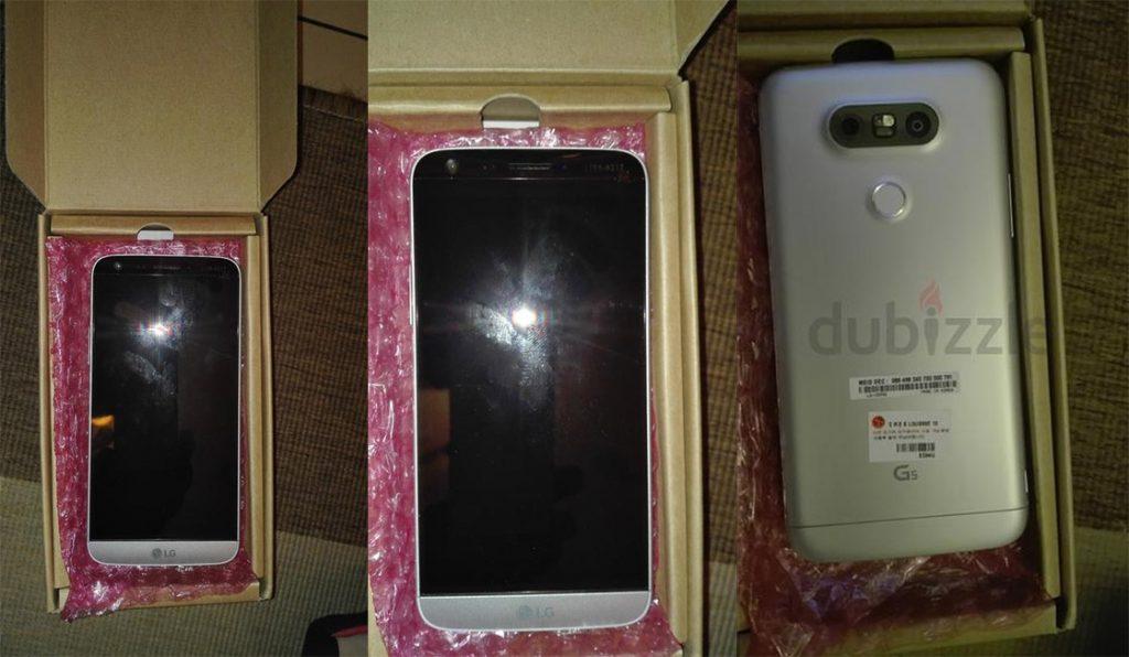 LG G5 beelden