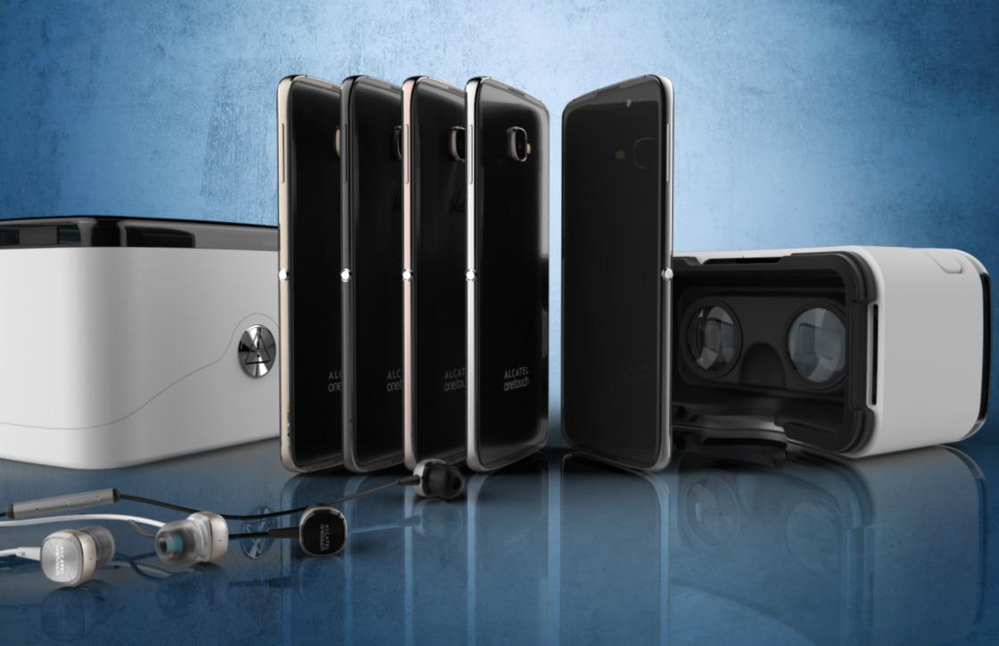 Alcatel verpakt nieuwste smartphone in vr-bril