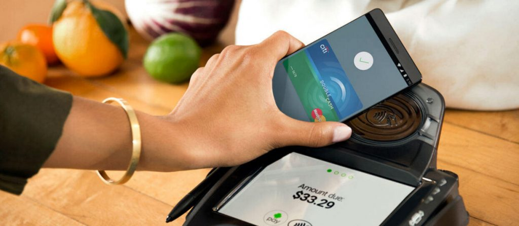 Android Pay internationaal