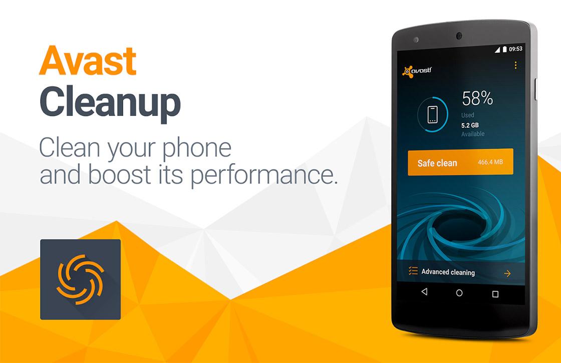 Avast Cleanup: krachtige app om snel ruimte vrij te maken