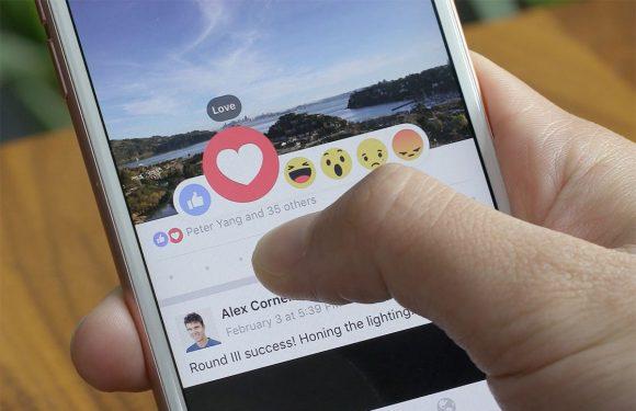 Facebook maakt alternatieven voor 'vind ik leuk'-knop beschikbaar