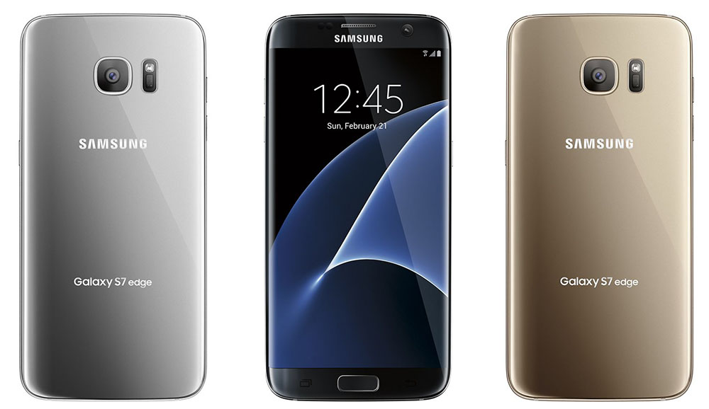 Galaxy S7 Edge renders
