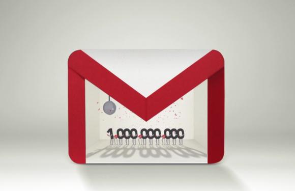 Ook Gmail bereikt mijlpaal van 1 miljard gebruikers