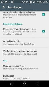 gmail app-suggesties
