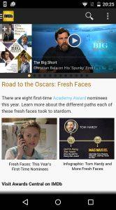 IMDB Material Design