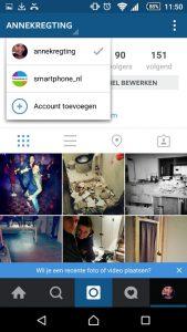 instagram-accounts beheren