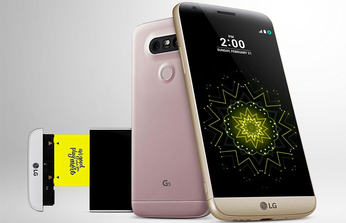 LG G5 is relatief makkelijk te repareren