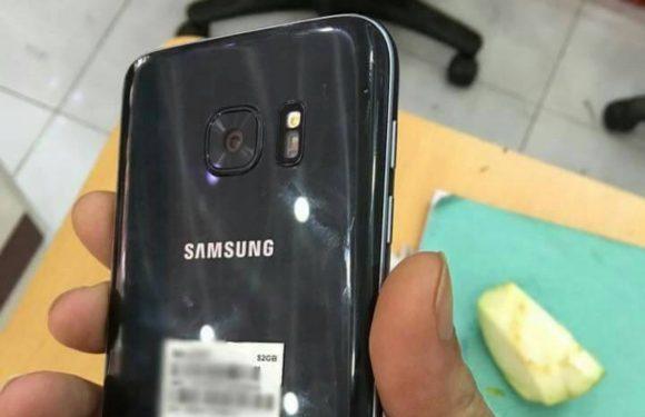 'Samsung Galaxy S7 duikt op in het wild'