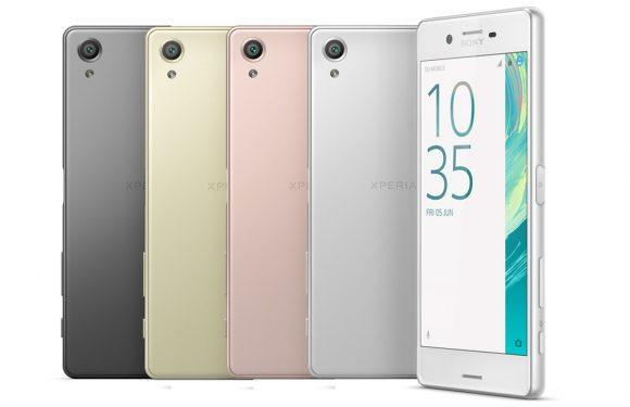 Sony kondigt nieuwe Xperia X-smartphones aan