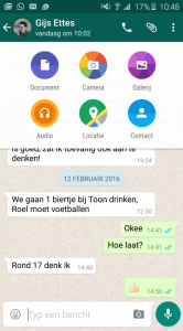 whatsapp pdf versturen
