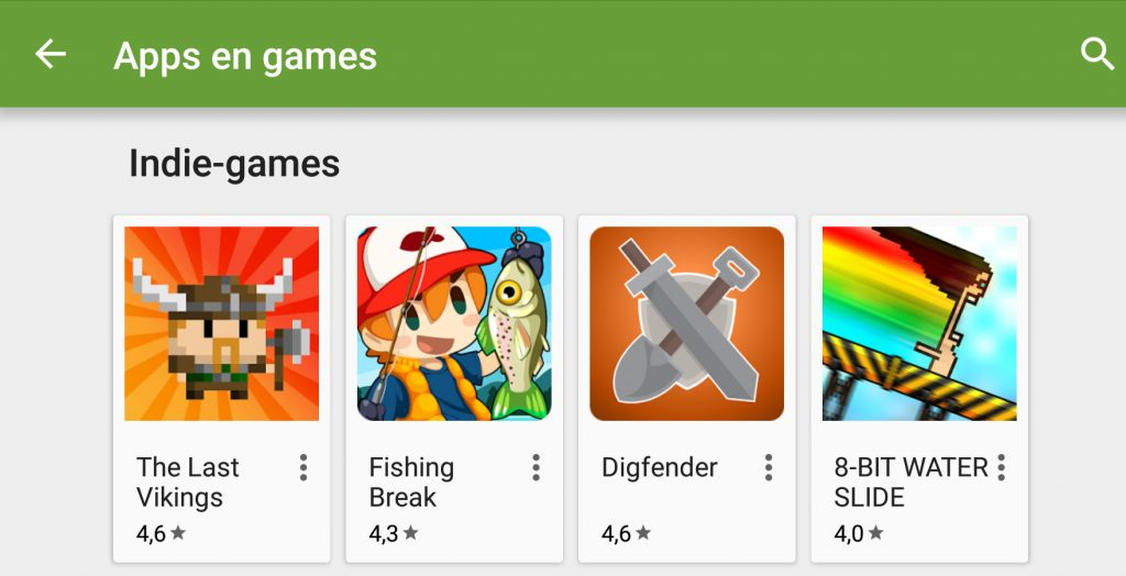 Android gamemakers