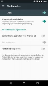 android n nachtmodus