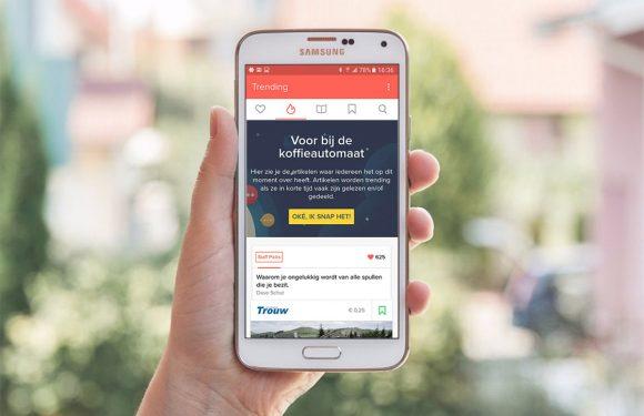 Officiële Blendle-app nu beschikbaar voor Android