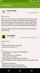 Changelogs