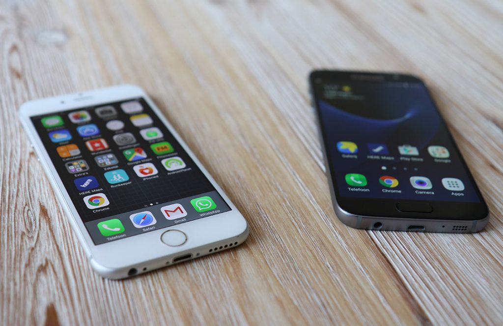 galaxy s7 vs iphone 6s 1