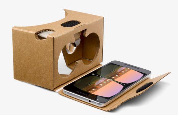 Google gaat Cardboard aanbieden in eigen Store