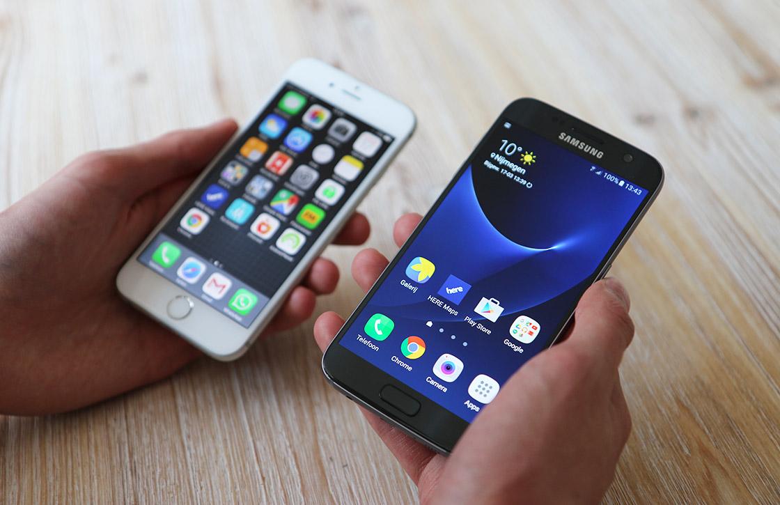 'Android- en iPhone-gebruikers willen niet met elkaar daten'