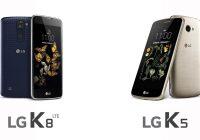 LG brengt betaalbare smartphones K8 en K5 naar Europa