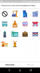 Google Maps stickers