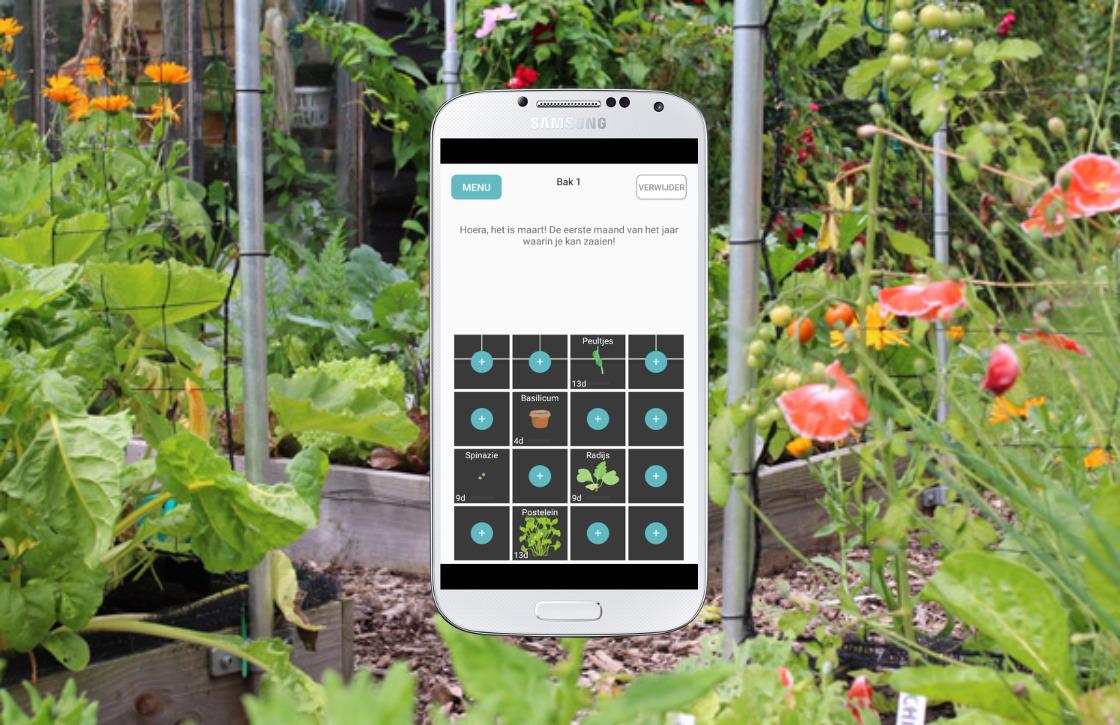 3 apps waarmee ook jij een moestuin kunt beginnen