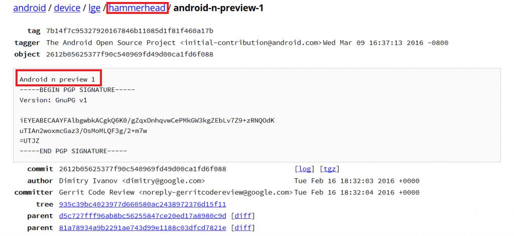 Nexus 5 Android N