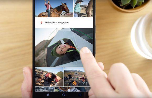 Google Foto's kan nu afbeeldingen in een diavoorstelling tonen