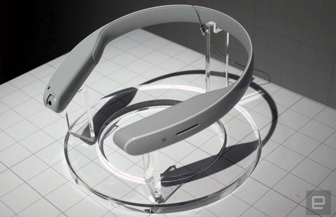 Sony toont conceptversie wearable en touchscreen-projector