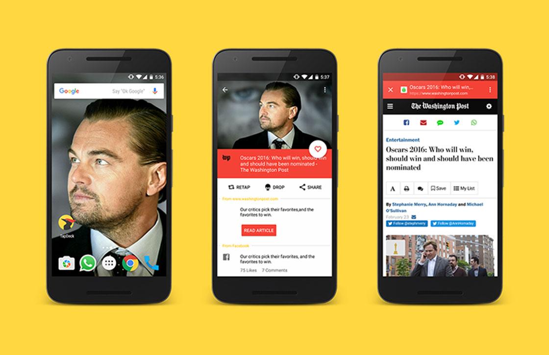 TapDeck: fraaie wallpaper-app met een twist