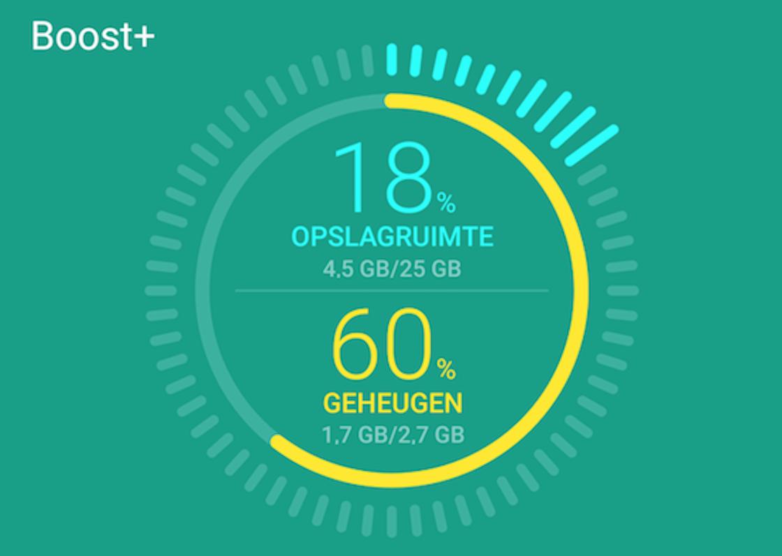 HTC Boost+-app helpt Android-smartphones met ruimte besparen