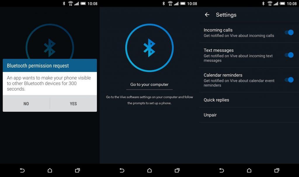 HTC Vive app