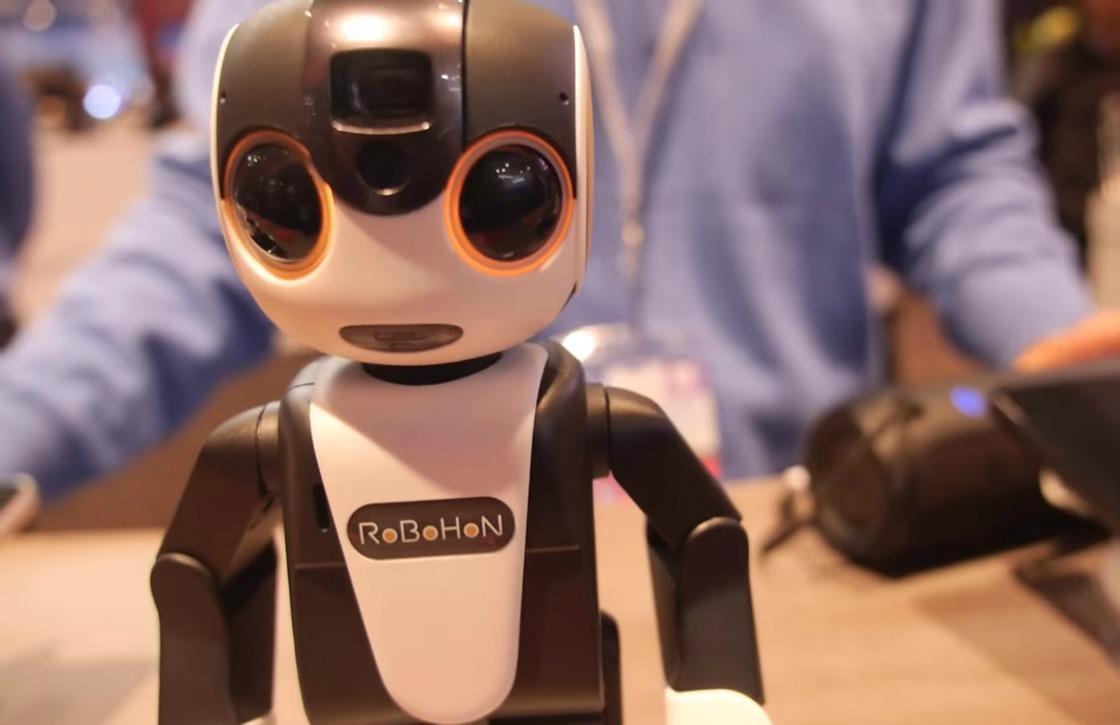 Smartphonerobot RoBoHon van Sharp kost 1600 euro