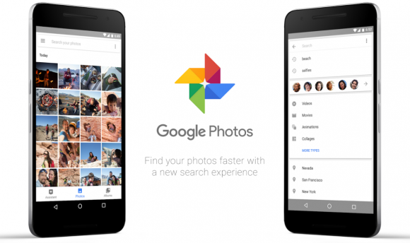 google foto's back-up-functie