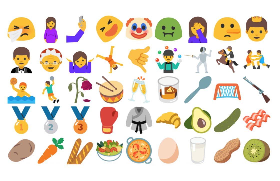 Maak kennis met de nieuwe Android N-emoji