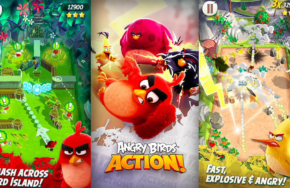 Angry Birds Action warmt je op voor de film