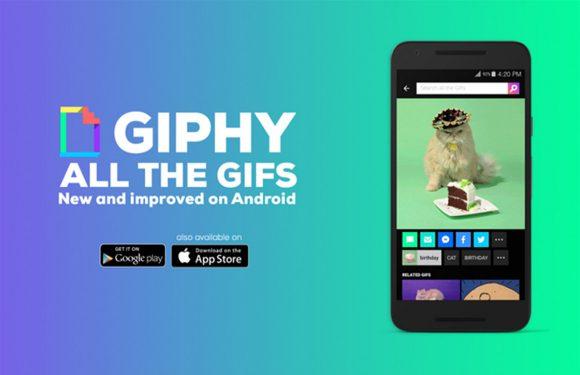 Giphy brengt eindelijk volwaardige Android-app uit