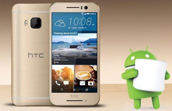HTC onthult metalen One S9 met 13 megapixel-camera – update