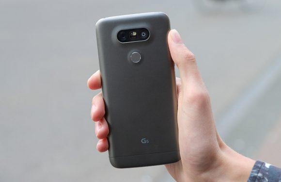 'LG stopt irisscanner en vervangbare accu in G6'