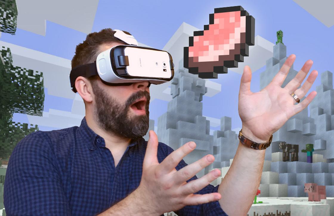 Minecraft nu beschikbaar voor Samsung Gear VR