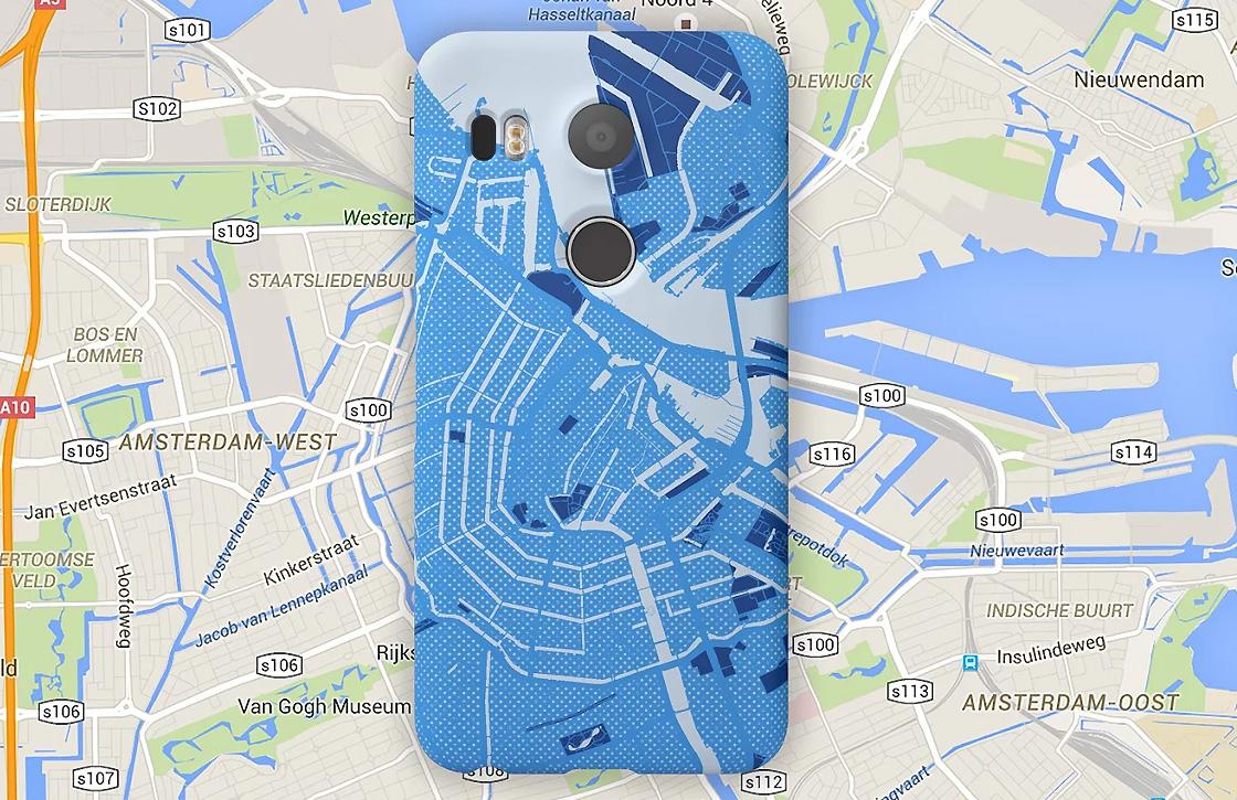 Google is de weg kwijt bij verkoop Google Maps-hoesjes voor Nexus