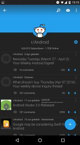 Reddit Android-app