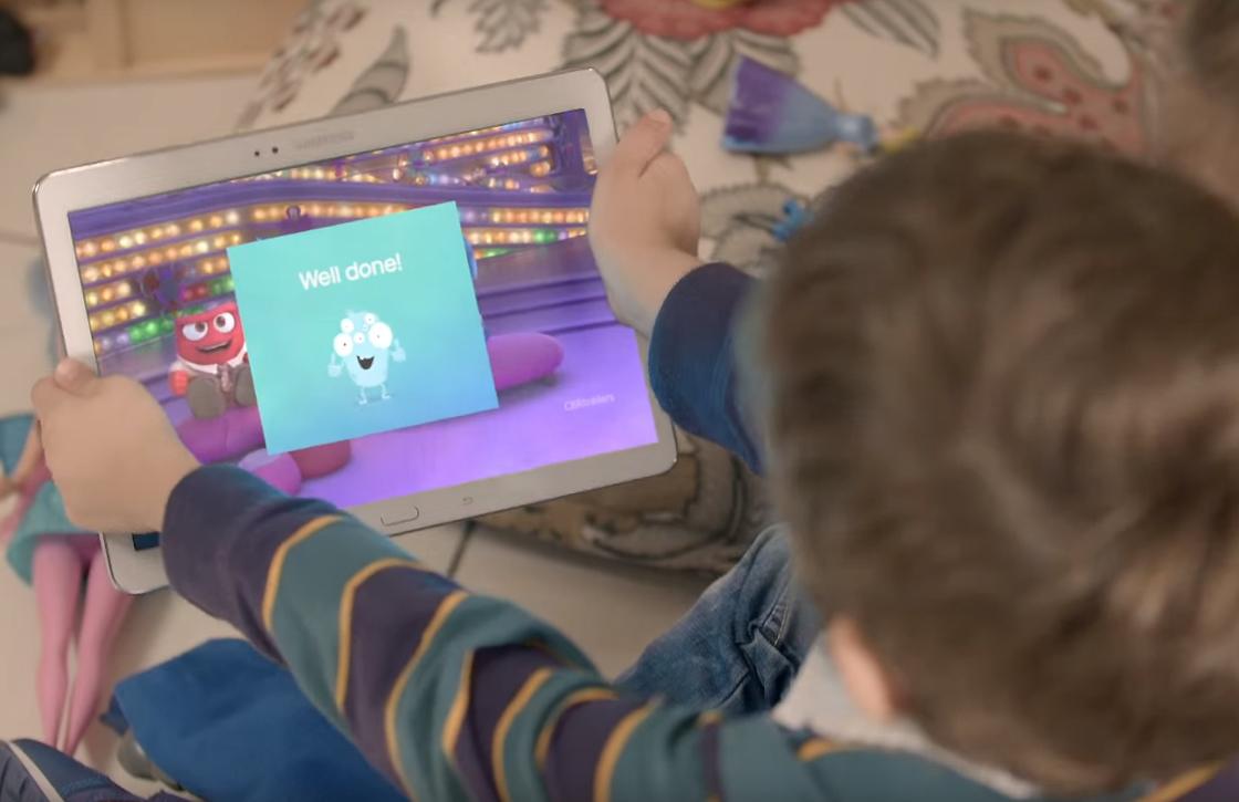 Samsung-app zorgt voor juiste afstand tussen scherm en kinderogen
