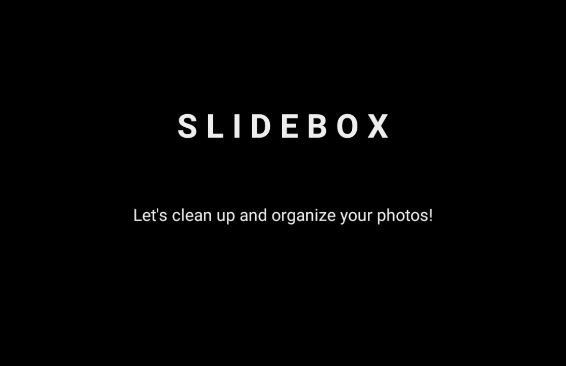 Slidebox laat je snel foto's sorteren via swipes