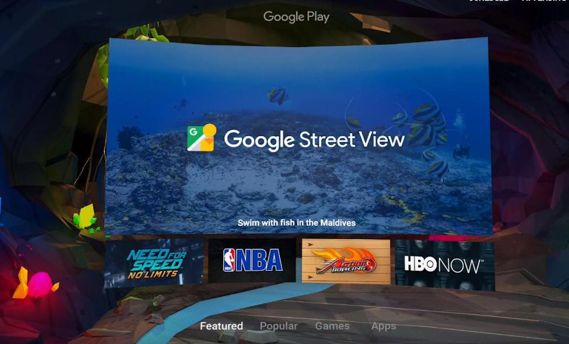 Chrome VR Shell